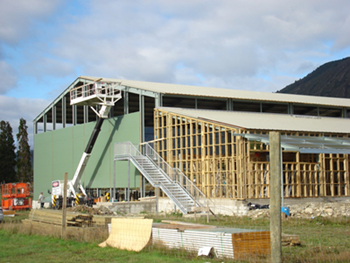 Building Murchison Recreation Centre