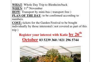 Marlborough Garden and Flower Show Fete